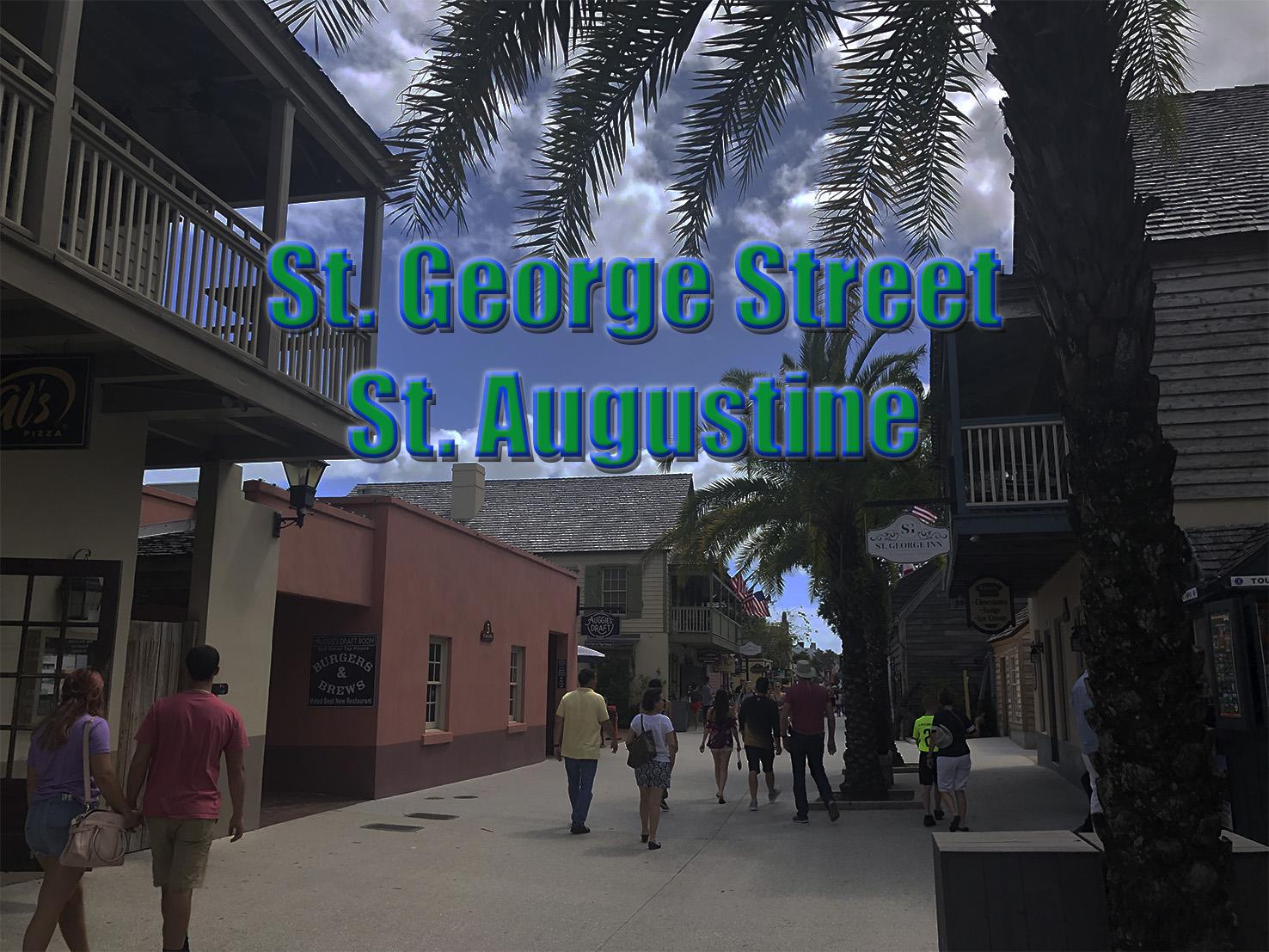 Caminando por St. George Street