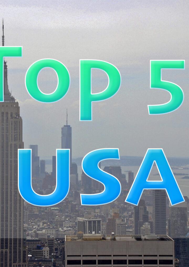 Mi Top 5: USA